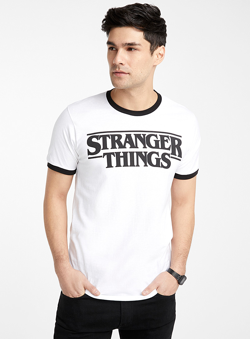 Stranger Things T-shirt - Logo wear - White