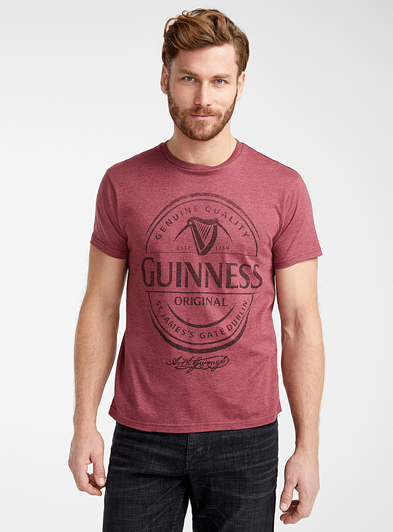 Guinness T-shirt - Prints - Ruby Red