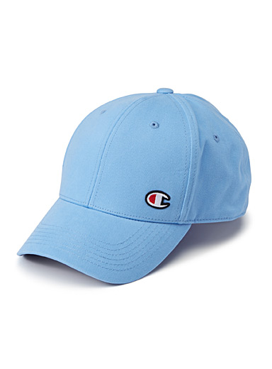 Embroidered initial cap