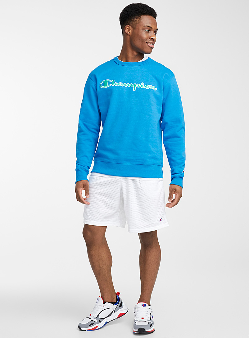 Champion White Essential mesh short for men