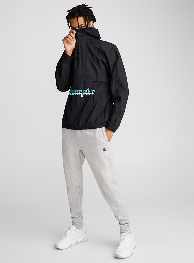double-logo-hooded-windbreaker