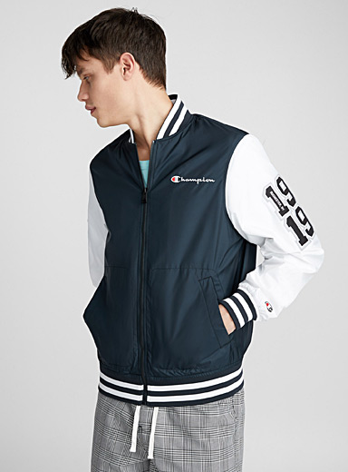 Windproof baseball bomber jacket