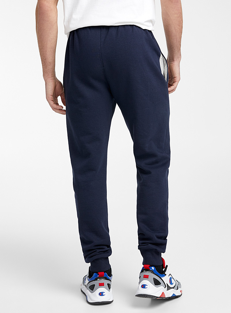 Le jogger logo vertical Powerblend - Joggers - Marine
