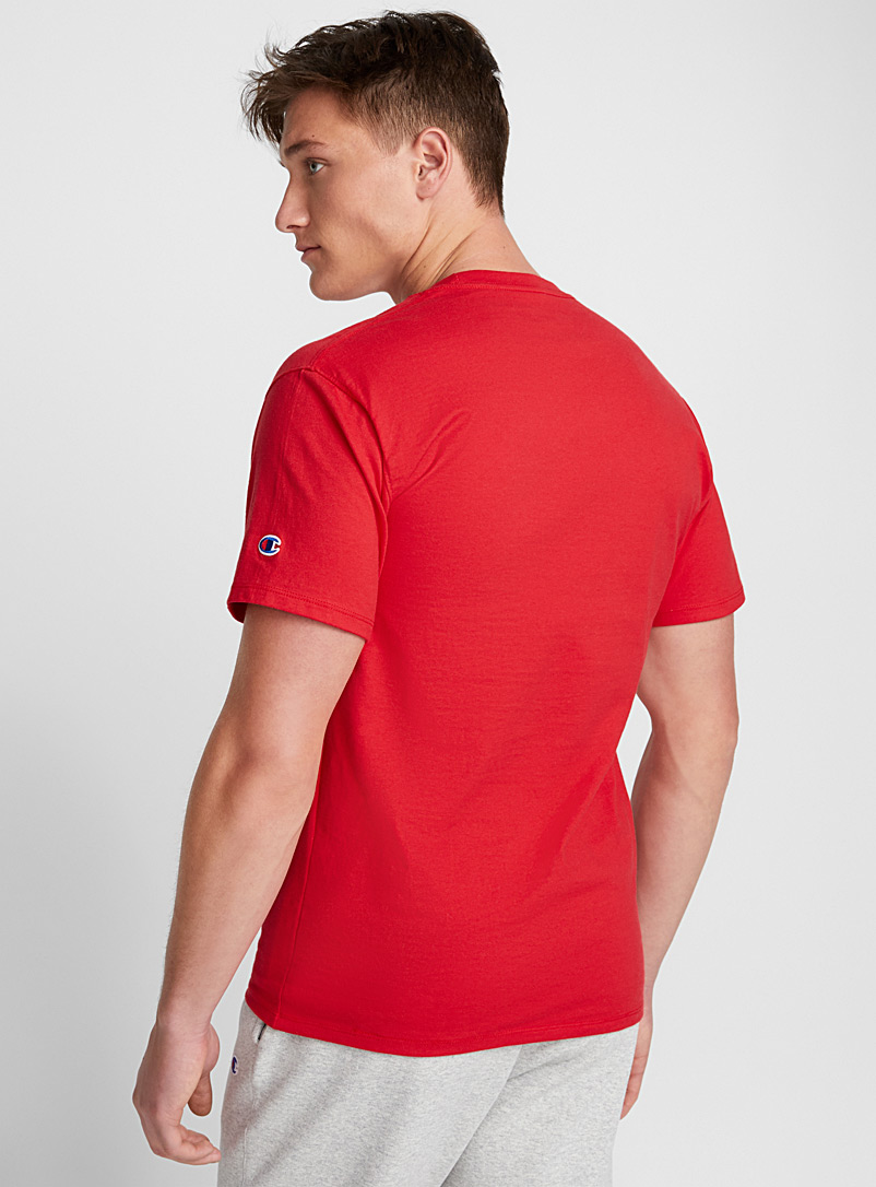 Iconic logo tee - T-shirts - Red
