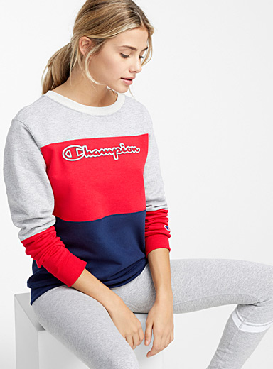 Tricolour club sweatshirt