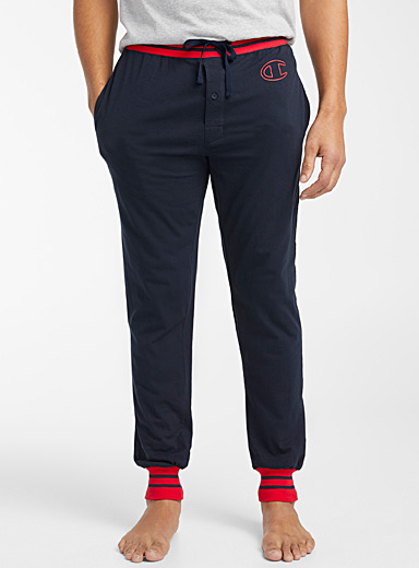 Champion Marine Blue Sporty lounge joggers for men