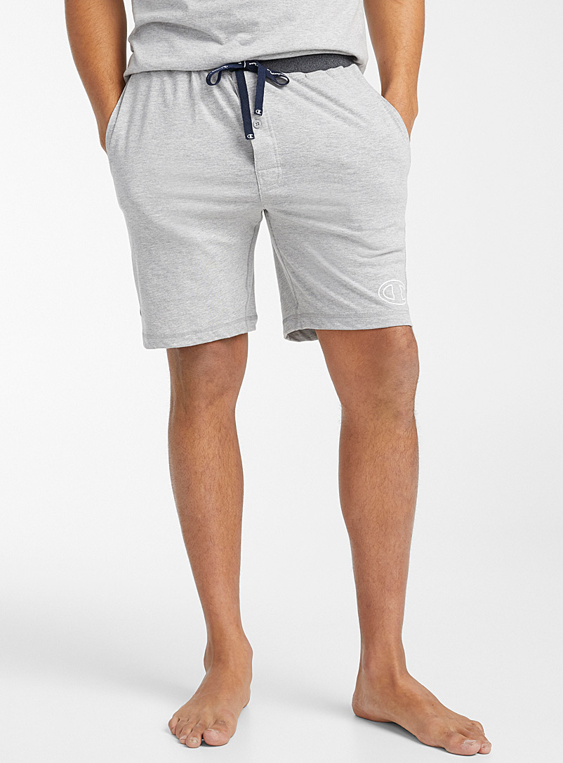 Champion Charcoal Sporty lounge Bermudas for men