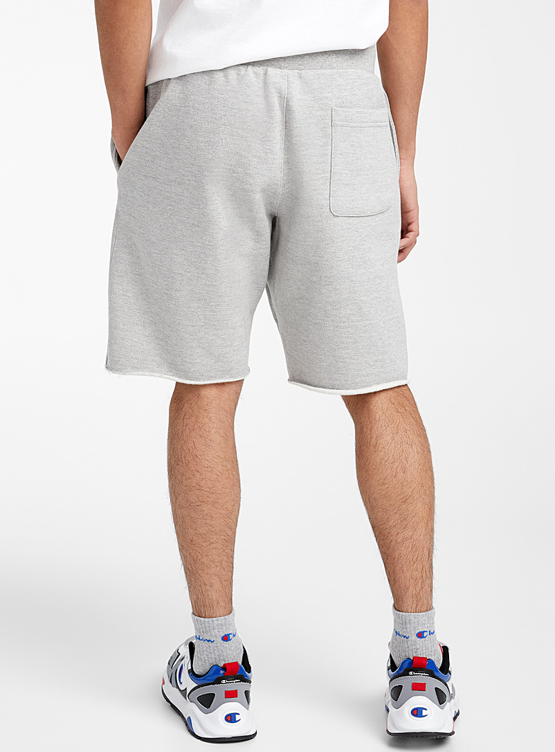 Champion Black Cropped sweat pull-on short for men