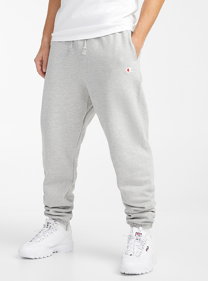 Le jogger Reverse Weave relax