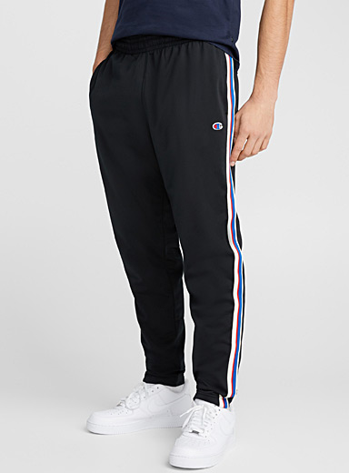 Tricolour stripe athletic pant