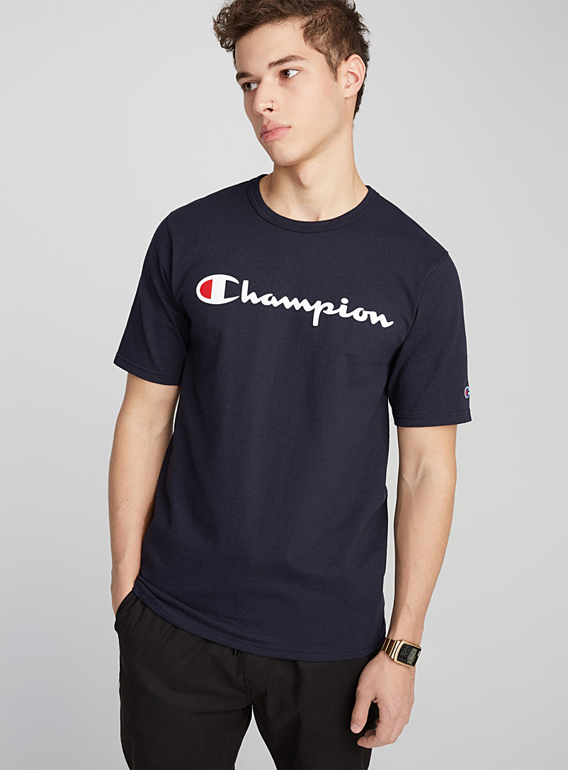 Sporty Life T-shirt - Logo wear - Marine Blue