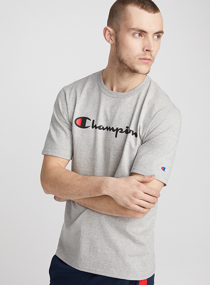 Sporty Life T-shirt - Logo wear - Dark Grey
