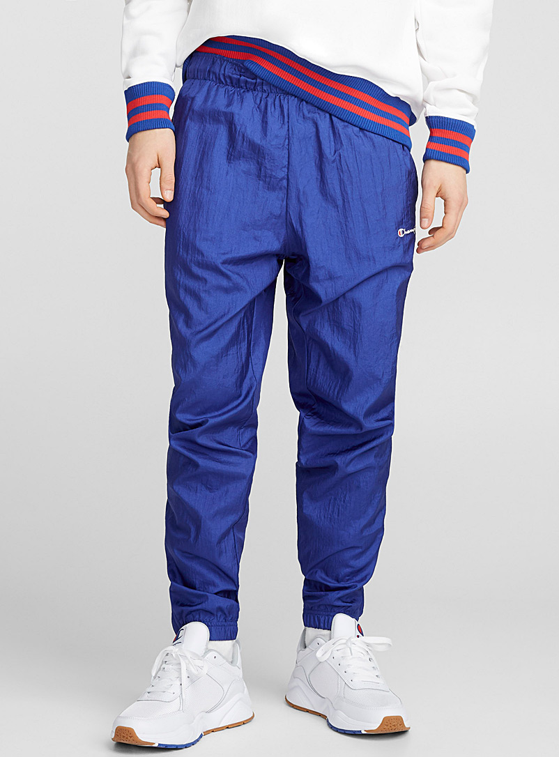 Electric nylon joggers - Joggers - Blue