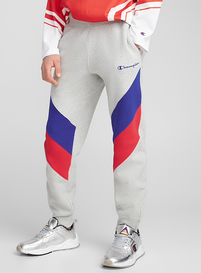 Retro block jogger pant - Joggers - Oxford