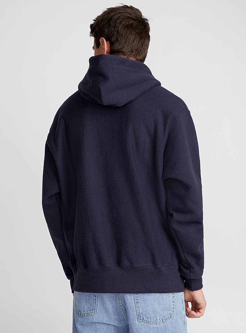 Champion Grey Authentic athletic hoodie for men