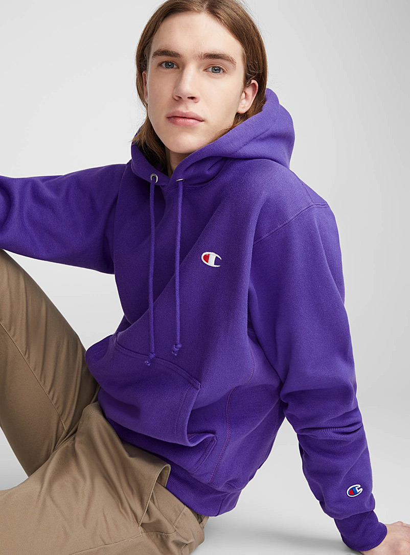 Authentic athletic hoodie - Sweatshirts & Hoodies - Purple
