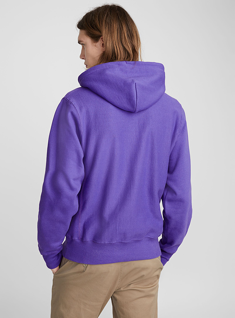 Le sweat athlétique authentique - Sweats et kangourous - Violet