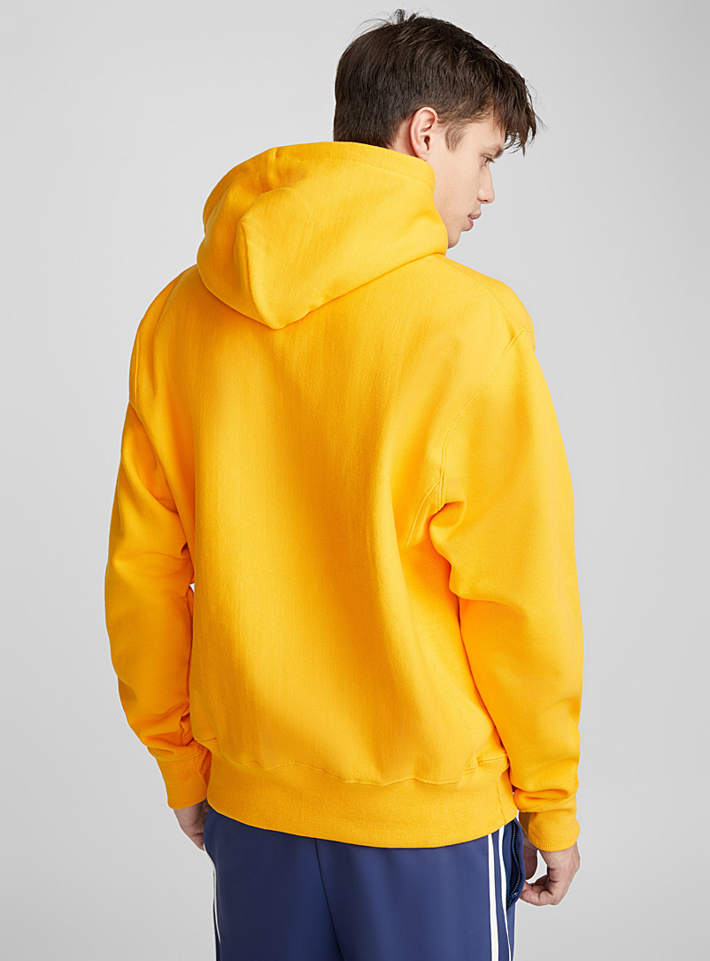 Authentic athletic hoodie - Sweatshirts & Hoodies - Dark Yellow