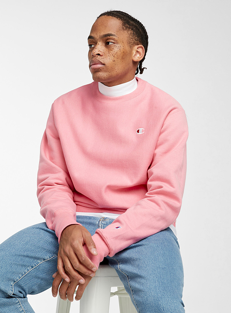 Champion Dusky Pink Authentic crew-neck sweatshirt for men