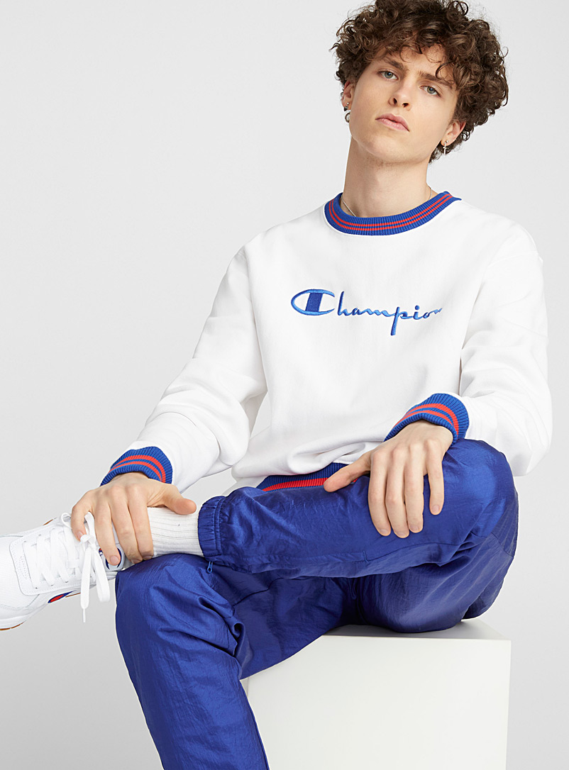 Sporty logo sweatshirt - Sweatshirts & Hoodies - White