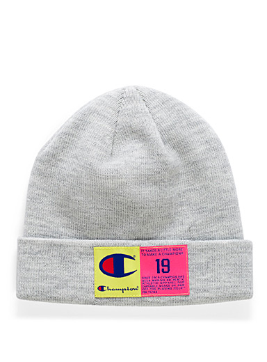Neon label tuque