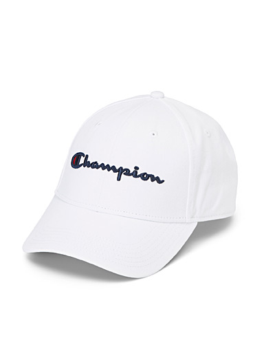 Embossed signature baseball cap