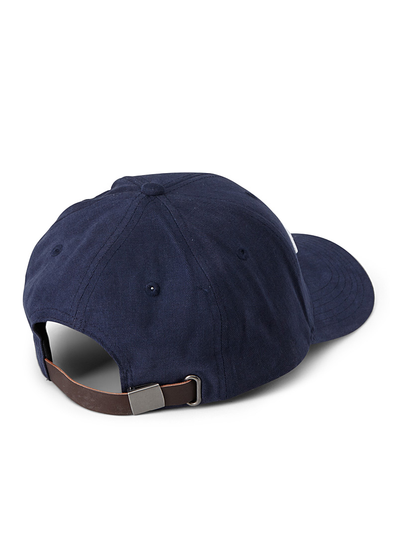 Champion Dark Blue Raised signature baseball cap for women