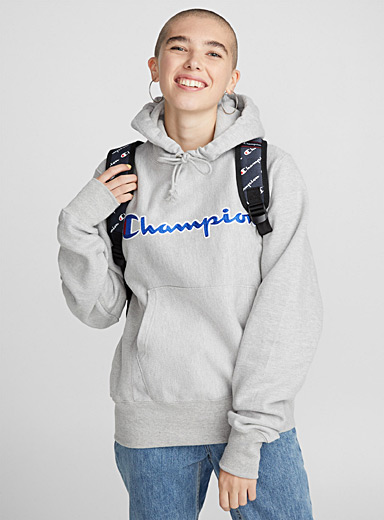 Emblematic hooded sweatshirt