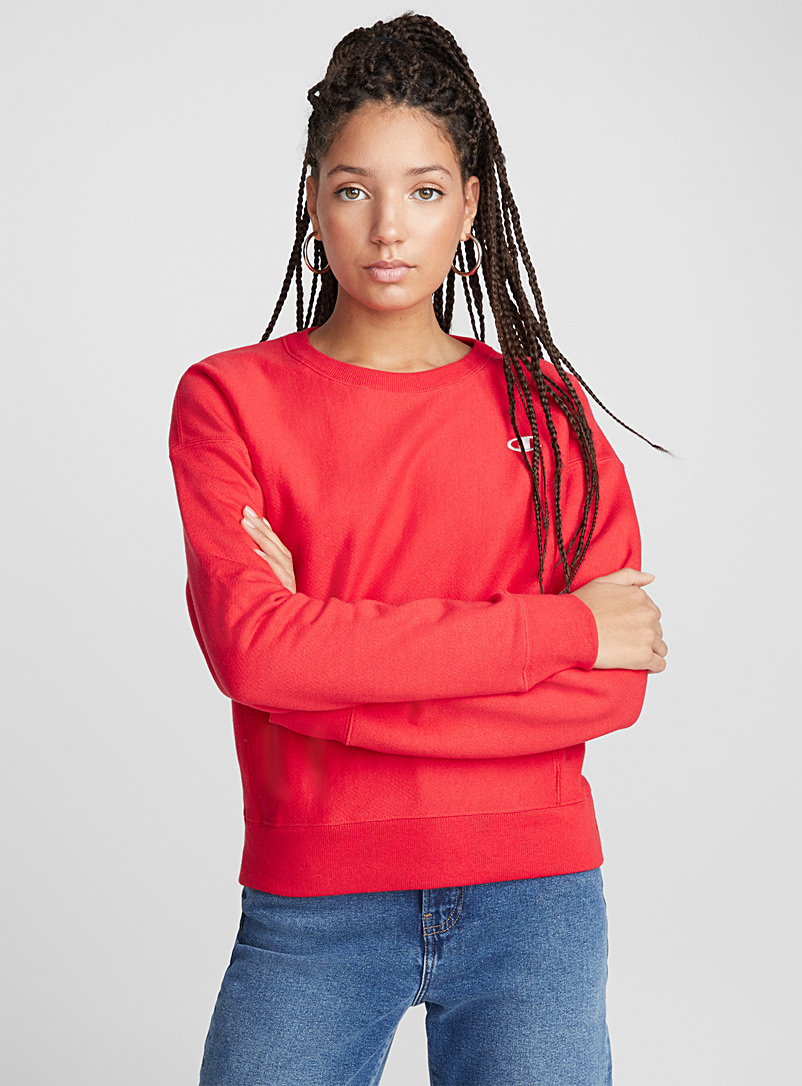 Signature mini logos sweatshirt - Sweatshirts & Hoodies - Red