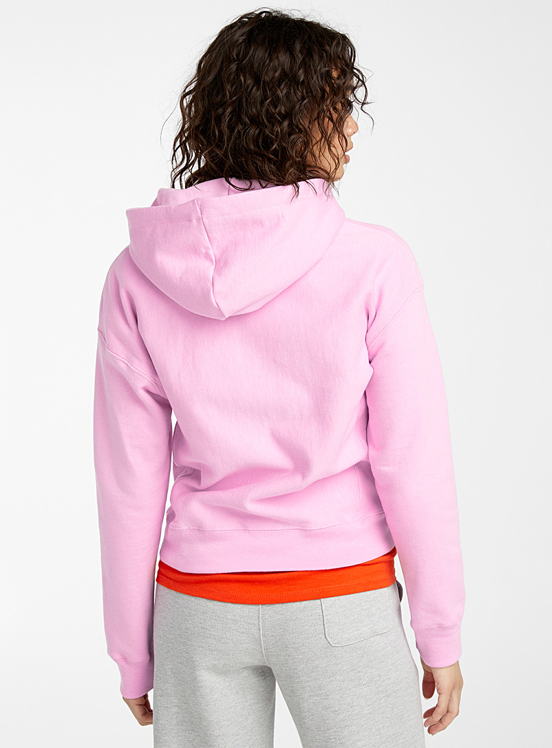 Champion Grey Embroidered logo hoodie for women