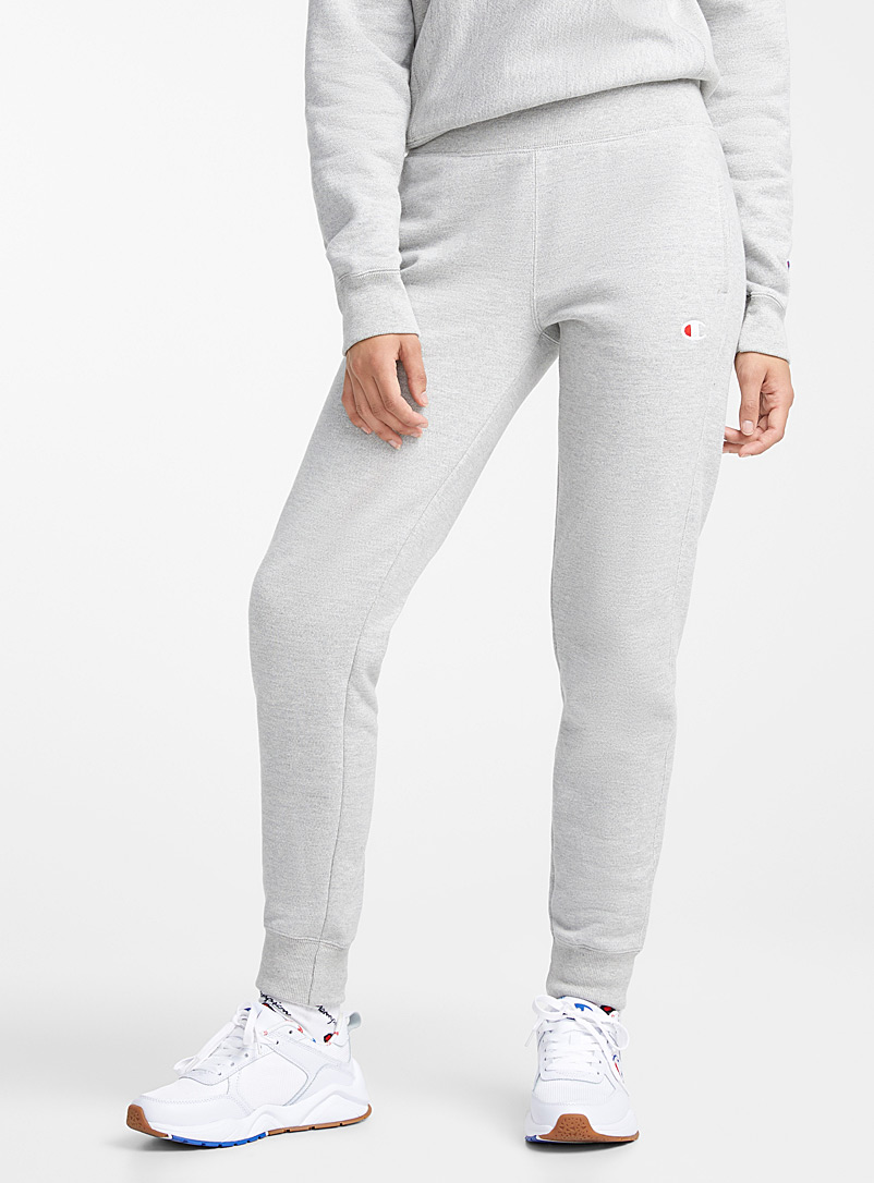 Mini-logo sweat joggers - Joggers - Grey