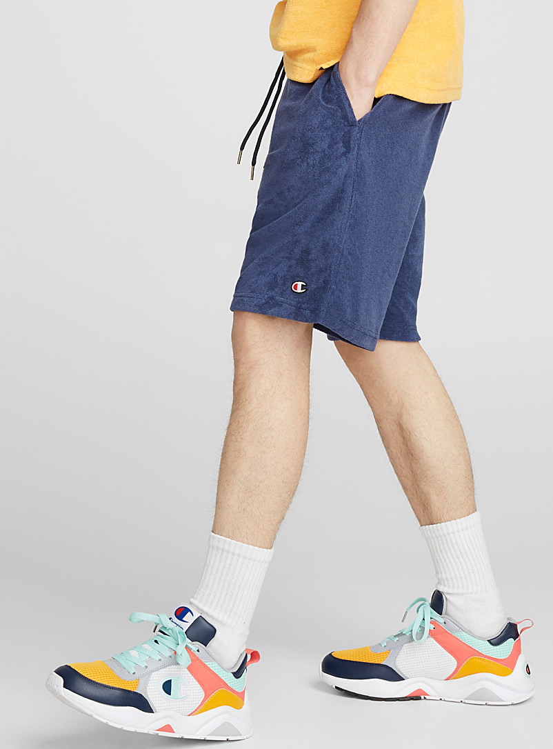 Striped Waist Terry Short by Champion