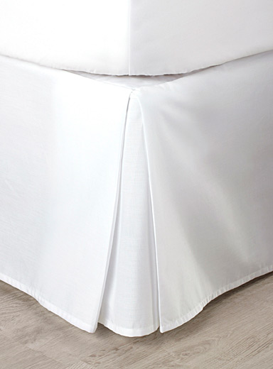 La jupe de lit percale plus