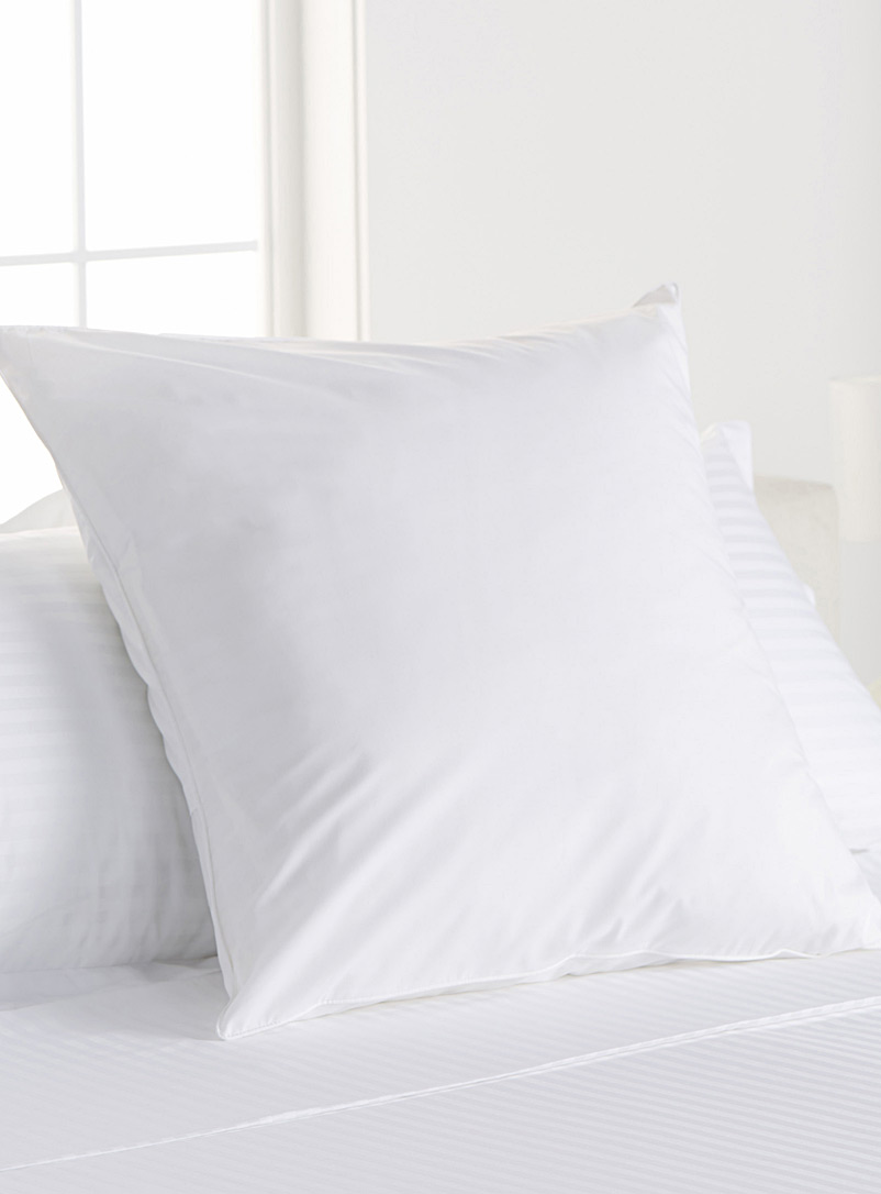 Percale plus euro pillow sham, 200 thread count - Bed Skirts & Shams - White