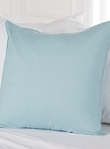 Percale plus euro pillow sham, 200 thread count