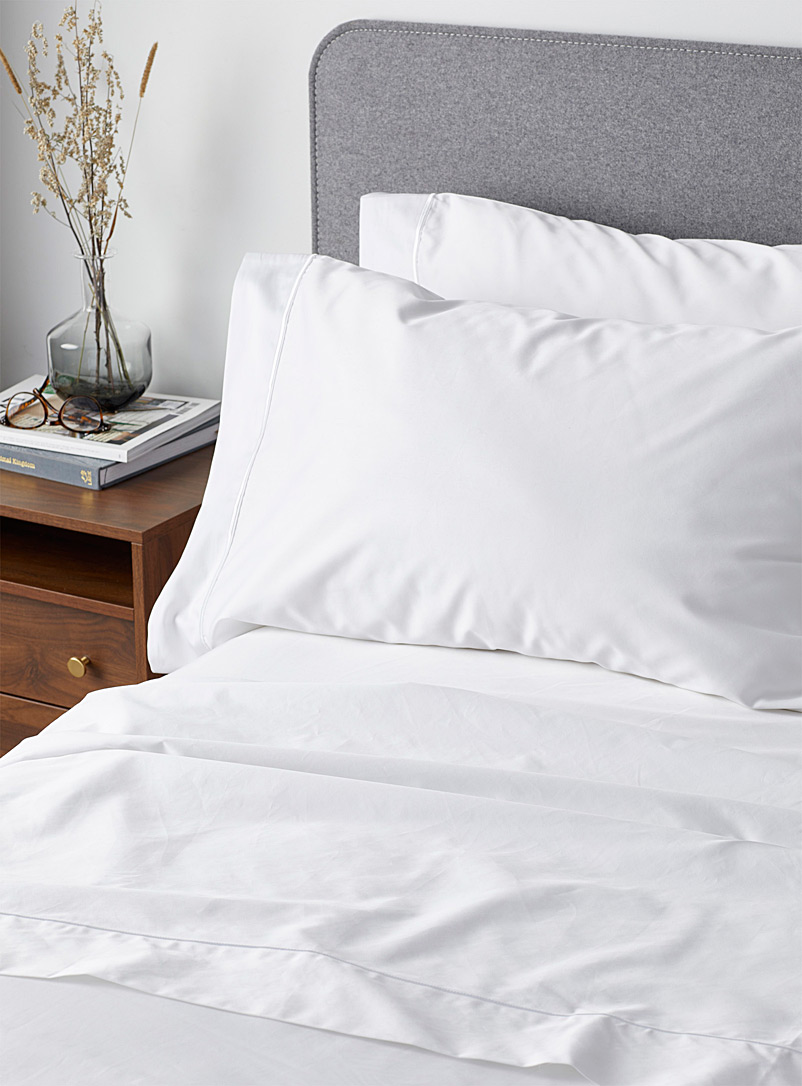 100% Egyptian cotton 480 thread count sheet set  Fits mattresses up to 16 in.
