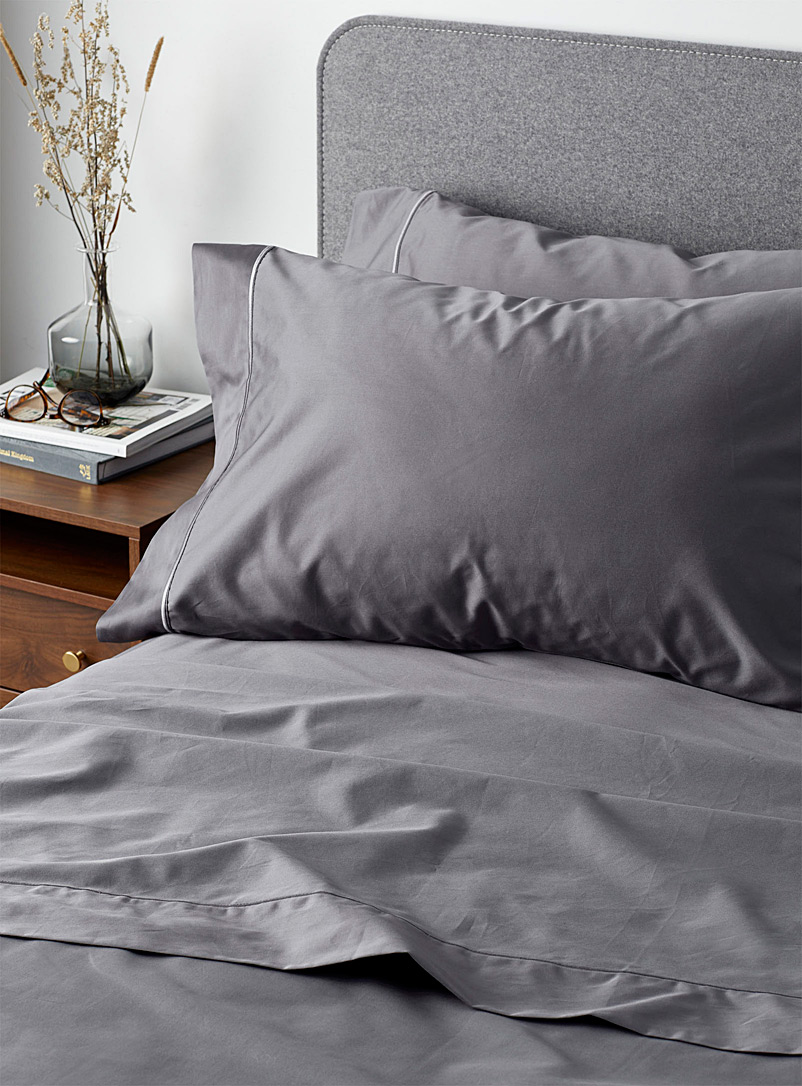 Simons Maison Green 100% Egyptian cotton 480-thread-count sheet set Fits mattresses up to 16 in