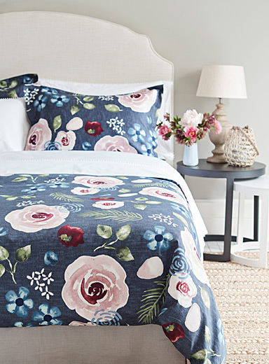 Winter woodland duvet cover set