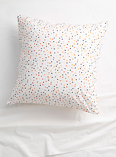 Confetti Euro pillow sham