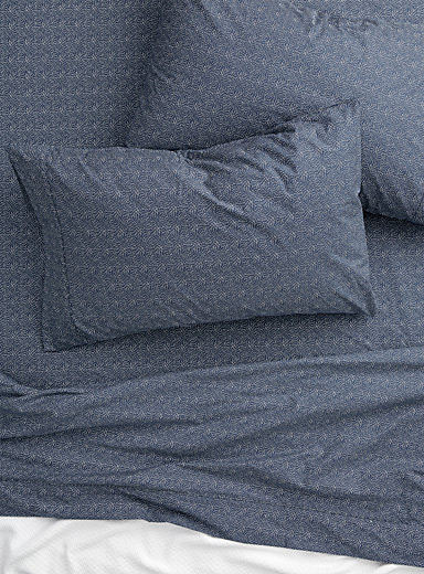 Starry night 200-thread-count percale plus sheet Fits mattresses up to 15 in.