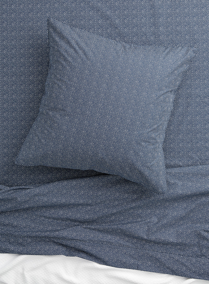 Simons Maison Blue Starry night percale plus euro pillow sham