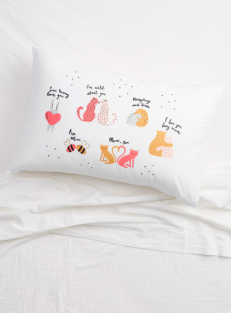 Simons Maison Assorted Love nest pillowcase