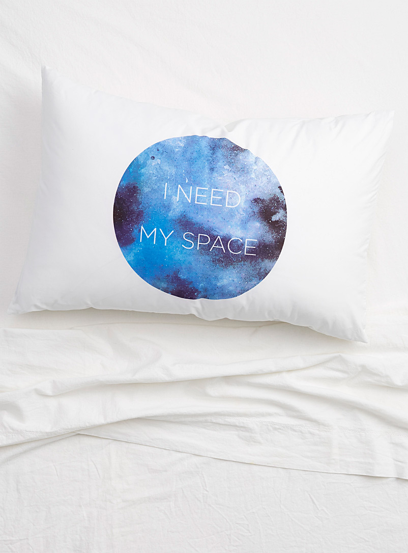 Simons Maison Assorted I Need My Space pillowcase