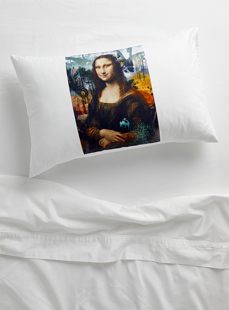 Simons Maison Assorted Rebel Mona Lisa pillowcase
