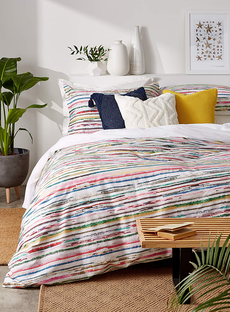 Simons Maison Assorted Multicolour print duvet cover set