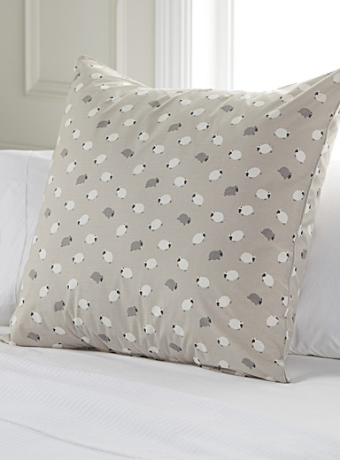 Counting sheep Euro pillow sham