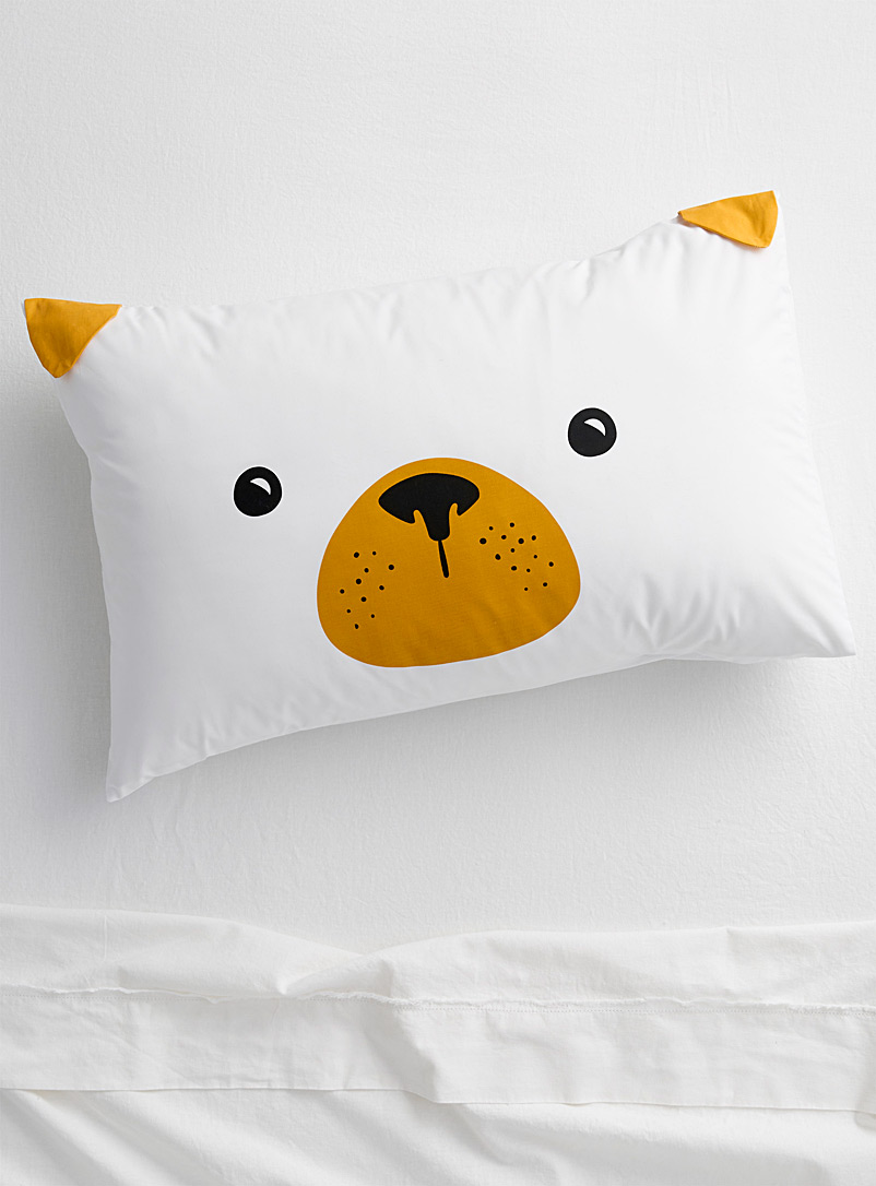 Little pug pillowcase - Pillowcases - White