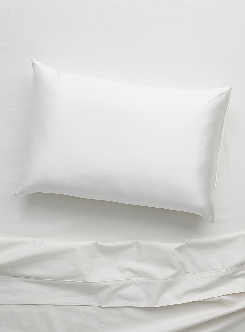 Simons Maison White Deluxe silky pillowcase  20
