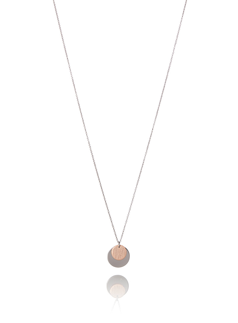 Disk duo necklace - Necklaces - Assorted
