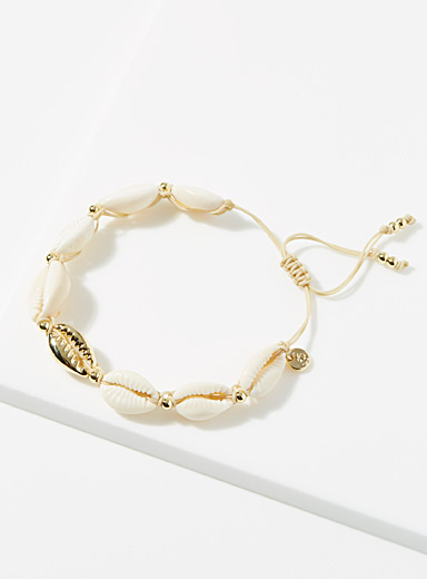 Genuine shell bracelet